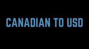 Canadian To Usd