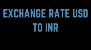 Exchange Rate Usd To Inr